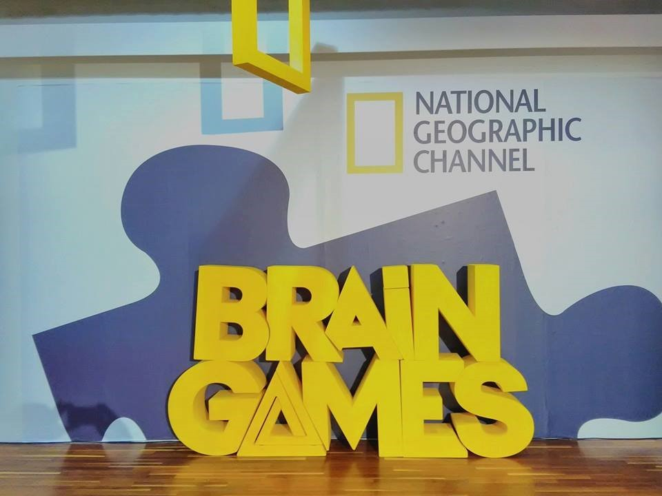 "Live Events & Installations for the TV show of National Geographic ""Brain Games"" at the Athens Science Festival in Technopolis Athens"