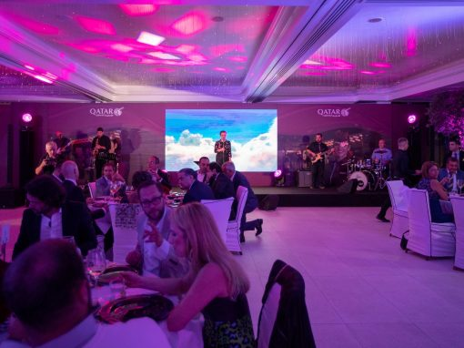 Qatar Airways Launch Event in Mykonos