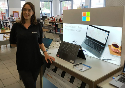 Promotion for Microsoft Hellas in Kotsovolos & Public stores in Athens & Thessaloniki
