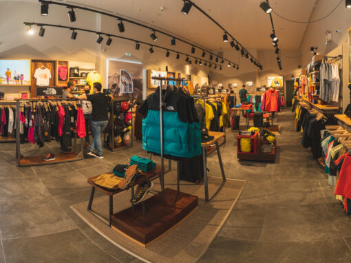 The North Face – New Store Opening at the Mall Athens